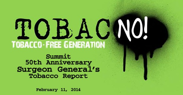 Tobacco Summit: The 50th Anniversary of the Surgeon General's Tobacco Report